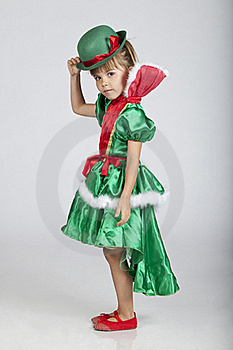 Beautiful Little Girl On Saint Patrick's Day Royalty Free Stock Photo - Image: 16248985