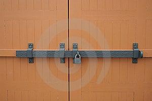 Detail Of A Wooden Door. Stock Photo - Image: 16249910