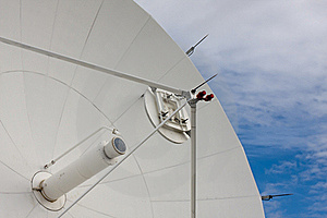 Satellite At National Radio Astronomy Observatory Royalty Free Stock Photos - Image: 16251658
