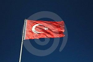 Flag Of Turkey Stock Image - Image: 16252291