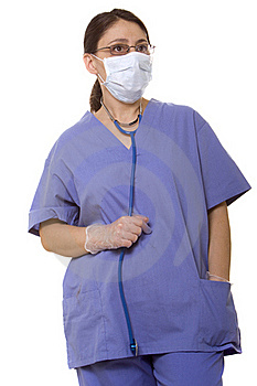 Doctor With A Stethoscope Royalty Free Stock Photos - Image: 16253698