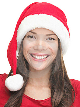 Christmas Girl Smiling Royalty Free Stock Photos - Image: 16253968