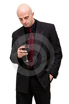 Business Man In Suit Royalty Free Stock Photography - Image: 16254127