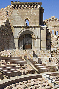 Roman Theatre 2. Stock Photo - Image: 16254640