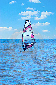 Windsurfing Royalty Free Stock Photo - Image: 16254665
