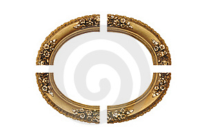 Gold Frame Royalty Free Stock Photo - Image: 16256165