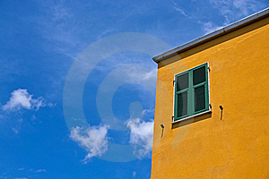 Colorful Mediterranean House Stock Images - Image: 16257824