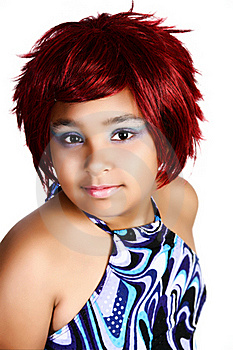 Glamor Child Stock Image - Image: 16258001