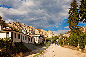 Melnik Town Street Royalty Free Stock Photos - Image: 16259528
