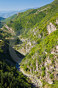 Rhodope River Valley Royalty Free Stock Photos - Image: 16259618