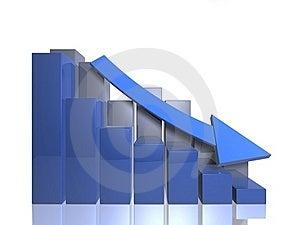 Bar Graphs - Descending - Front View Stock Photos - Image: 16264563