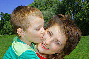 Kisses Royalty Free Stock Image - Image: 16265606