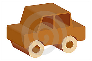 Wooden Toy Car Stock Photo - Image: 16266440