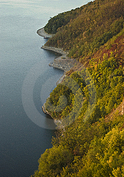 Rivage D'automne Photos stock - Image: 16268743