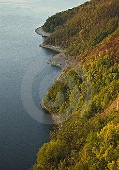 ακτή φθινοπώρου Στοκ Φωτογραφίες - εικόνα: 16268743