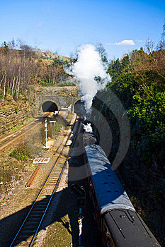 Old Steam Locomotive Stock Images - Image: 16269344