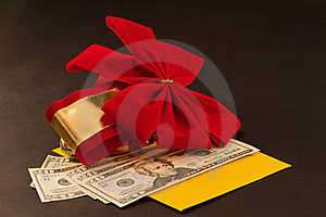 Holiday Gift Royalty Free Stock Image - Image: 16271786
