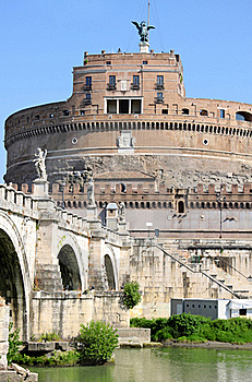 Castel Sant' Angelo In Rome, Italy Stock Photo - Image: 16271980