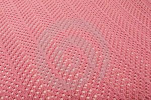 Pink Linen Fabric Stock Image - Image: 16273861