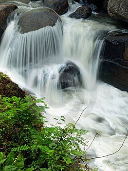 Motion Of Waterfall Royalty Free Stock Image - Image: 16282426