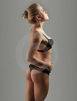 Sexy Beautiful Blond Stock Photography - Image: 16285822