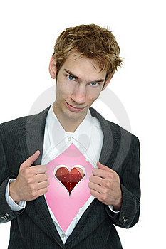 Boyfriend Shows His Love Royalty Free Stock Images - Image: 16287339