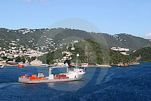 Industrial Ship Royalty Free Stock Photography - Image: 16287847