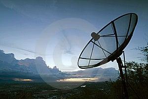Satellite Dishes Royalty Free Stock Photos - Image: 16288338