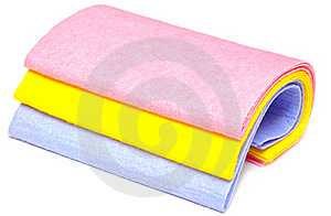 Colored Rags Stock Images - Image: 16289174
