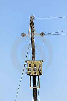 AC High-voltage Power Transformer Stock Photos - Image: 16289763