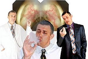 Harmful Habit Royalty Free Stock Photos - Image: 16290498