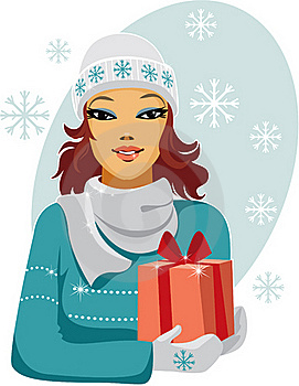 Christmas Gift Stock Images - Image: 16292014