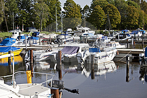 Pleasure Harbor Stock Photo - Image: 16292290