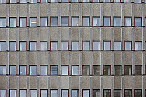Worn Building Stock Image - Image: 16292331