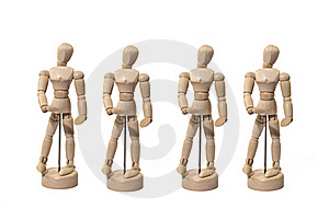 Chorus Line Royalty Free Stock Images - Image: 16293449