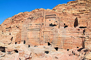 The Ancient City Of Petra In Jordan. Royalty Free Stock Image - Image: 16298336