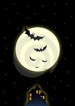 Dark Halloween Night Royalty Free Stock Photography - Image: 16299277