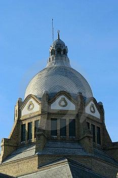 Roof Top Of Novi Sad Synagogue Royalty Free Stock Photography - Image: 1632187