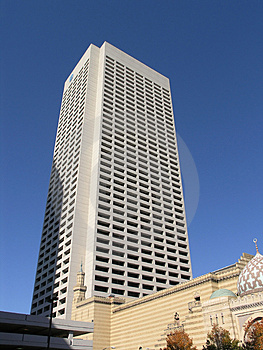 White Granite Skyscraper Stock Photos - Image: 1632943