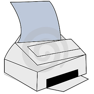 Printing Icon Royalty Free Stock Photo - Image: 1634625