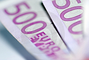 Close Up Of Euro Bills Stock Photos - Image: 16300643