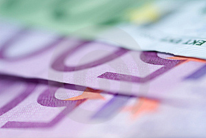 Close Up Of Euro Bills Royalty Free Stock Images - Image: 16300679
