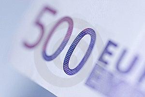 Close Up Of Euro Bills Royalty Free Stock Image - Image: 16300686