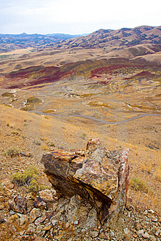 Painted Hills Stock Photo - Image: 16300740