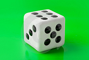 Gambling Dice Stock Photo - Image: 16300800