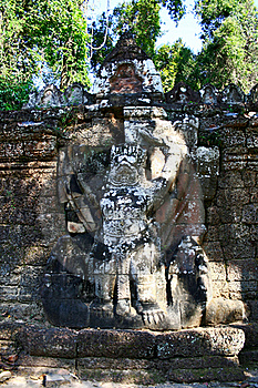 Ta Prohm Temple,Angkor Stock Photo - Image: 16301780