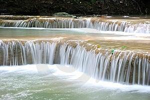Erawan Waterfall Stock Photo - Image: 16307090