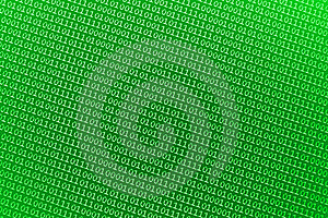 Small Green Binary Numbers Stock Photo - Image: 16307290