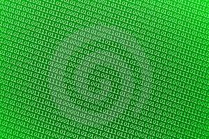 Small Green Binary Numbers Stock Photo - Image: 16307290