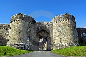 Glenstal Abbey Main Gates Royalty Free Stock Photography - Image: 16308397